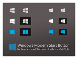 Windows Modern Start Button by dassebi