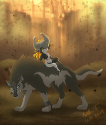 Link and Midna by Irete