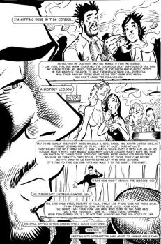 Time Dollars Issue One Pg 3 by patrickstrange