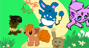 iScribble pokemon garden-ish thing maybe? o.O by TaiyoPrower