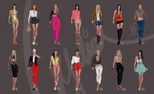 Fashion designs by Lideeh 3 by Lideeh
