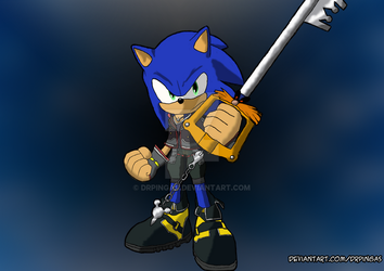 Kingdom Hearts: Sonic and the pingasblade by DrPingas