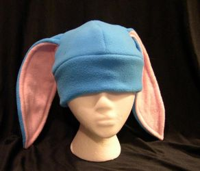Turquoise and Pink Bunny by kittyhats