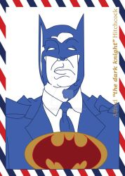 American Heroes-Alfred 'the dark knight' Hitchcock by Heliinchi