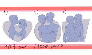 YCH Couple Busts [ CLOSED ] by BlackRosy14