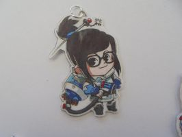 Overwatch Mei Necklace by Vavercraft