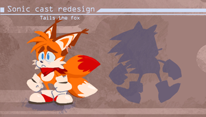 Sonic Redesign- Tails by Nerfuffle