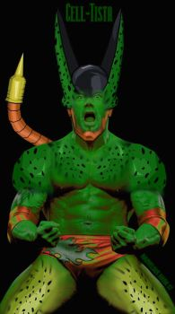 Cell-Tista, Cell+Batista Fuse by MarvelousMark