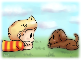 Lucas And Boney -GIF- by Jany-chan17
