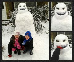 Doctor Who - Snowman by mikedaws