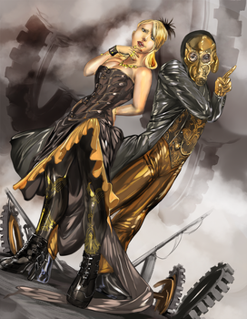 Latex and Steampunk - by Croft by l8xbrb2