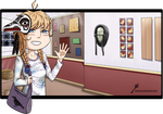 [OC APH] Day of Art by Kei2000