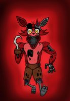 Foxy- FNAF 2 by NyxenAvenger