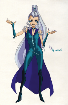 Queen of Ice by anvemi