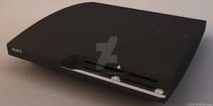 PS3 Slim 3 by Andy202