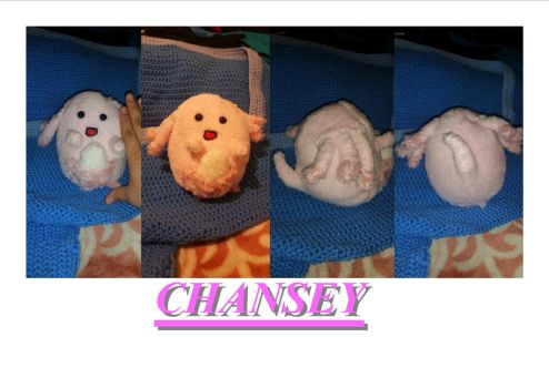 Chansey Plush!! by lupalover101