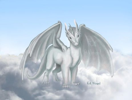 Dragons child_InSky by Kat-Winged