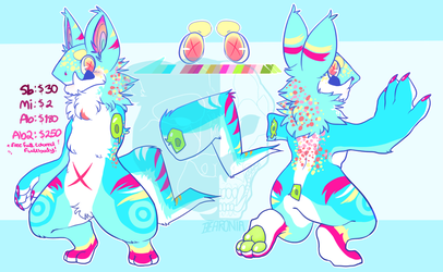 _adopt__megaphone_sergal_hybrid__auction_closed__by_bearonia-dcoudpo.png