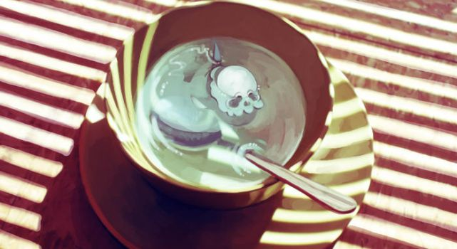 Skullfish in a Bowl by nurcum