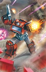 Ironhide by Dan-the-artguy