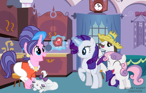 Rarity Wishes Her Mother A Happy Mother's Day! by SecretAgentJonathon