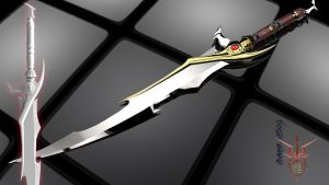 Murasame Sword  Version II by Bahr3DCG