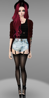 IMVU Avatar by theloverofTMI