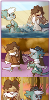 Soulmate Trail - Clouds and Stars 2-3-5 by Fuzzy-Draws-BBs