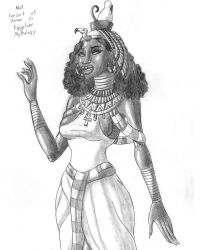 Mut from Egyptian Mythology by TyrannoNinja