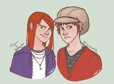 Jayce and Kenneth by Infected-Ellis