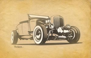 Ford Roadster by PachecoKustom