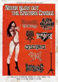 Never blow out the Eastern Candle 2012 by Skinperforator