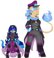 Queenpunky And General Aerial by Mongoosegoddess