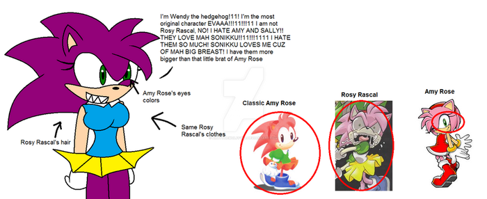 IT'S NOT ROSY RASCAL!!!!111!! by AllytheWolffy98