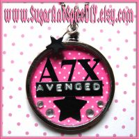 Avenged SUGAR POT Necklace by wickedland