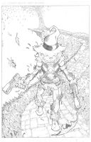 Scarecrow by Mulv