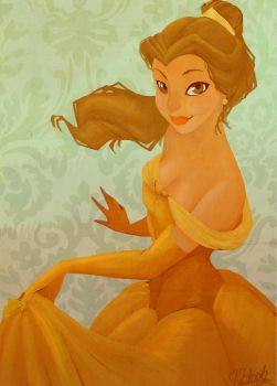 BeLLe painting by VPdessin