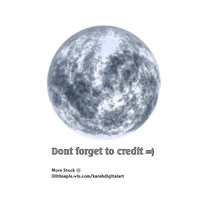 Winter Moon Stock Png by KarahRobinson-Art