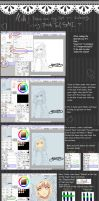 Lineart Coloring tips - Paint Tool SAI by Diamond-Drops