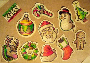 MTS - Xmas Series by MVRH