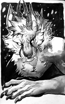 Inktober 2017: Claws by ChameleonTech