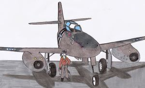 Captured  Me-262 take 2 by DingoPatagonico