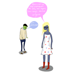 More hipster zombies by catfaced