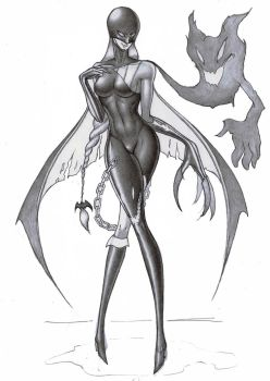 ladydevimon by doid12