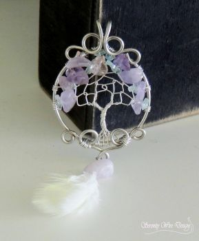 The Dreamcatcher Tree by SerenityWireDesigns