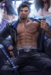 Hanzo suit by sakimichan
