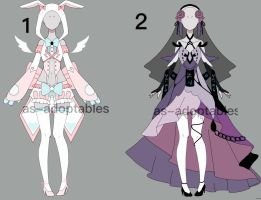 outfit adoptable batch  #03 CLOSED by AS-Adoptables