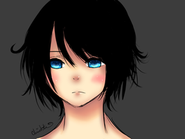 Black Hair and I'm Pale by Chimekitten