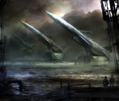 Missile launchers by Darkcloud013