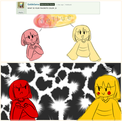 What is your favorite color? -Cittale answer by Temmious